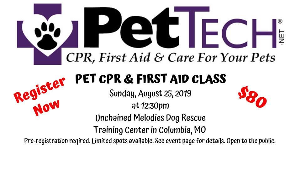 cpr pet class aid techniques